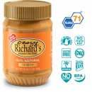 Арахисовое масло Crazy Richard's Crunchy Natural, 454 грамм