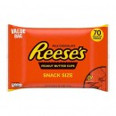 Конфеты Reese's Peanut Butter Cups Snack Size, 1.19 кг.